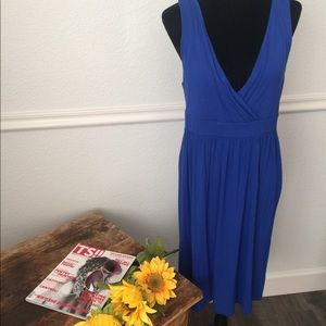 Old navy blue swimsuit cover dress Size Large